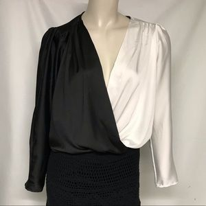 NWT Zara accessories top with attached panty